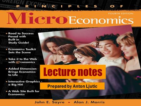 Lecture notes Prepared by Anton Ljutic. © 2004 McGraw–Hill Ryerson Limited Imperfect Competition CHAPTER ELEVEN.