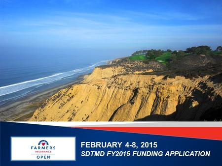 FEBRUARY 4-8, 2015 SDTMD FY2015 FUNDING APPLICATION.