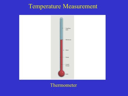 Temperature Measurement Thermometer. Air Temperature Data Daily Mean Daily Range Monthly Mean Annual Mean Annual Range Normal.