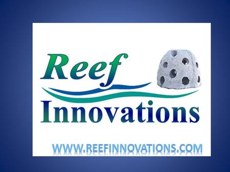 Larry Beggs President of Reef Innovations Board of Reef Ball Foundation NAUI Diver since 1988 over __ dives.