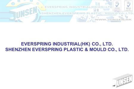 EVERSPRING INDUSTRIAL(HK) CO., LTD. SHENZHEN EVERSPRING PLASTIC & MOULD CO., LTD.