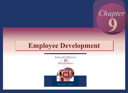 9 Chapter Employee Development.