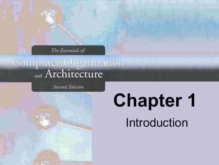Chapter 1 Introduction.