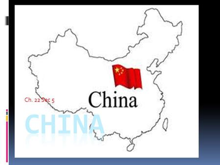 Ch. 22 Sec 5. Political Background  China has been a country for over 5,000 years.  Communist have been in charge for only over 50 years.  Nationalist.