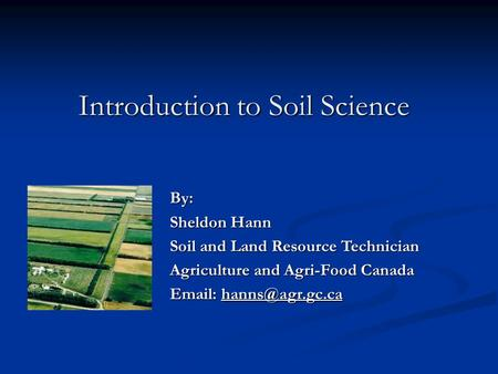 Soil is not dirt great integrator all parts of ecosystem for Soil as a resource introduction