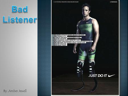 "By: Amber Jewell.  Oscar Pistorius, a double amputee, is known as the ""Blade Runner"" and ""the fastest man on no legs"".  Pistorius had his legs amputated."