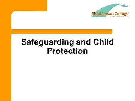 Safeguarding and Child Protection. Aims Students to become familiar with the concept of Safeguarding and know how to keep themselves and each other safe.