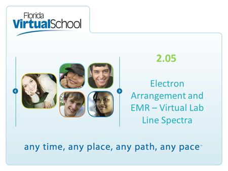 2.05 Electron Arrangement and EMR – Virtual Lab Line Spectra.
