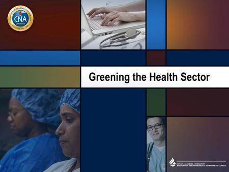 Greening the Health Sector. Overview The objectives of this class are to: –provide information on the health system's use of energy and toxic substances.