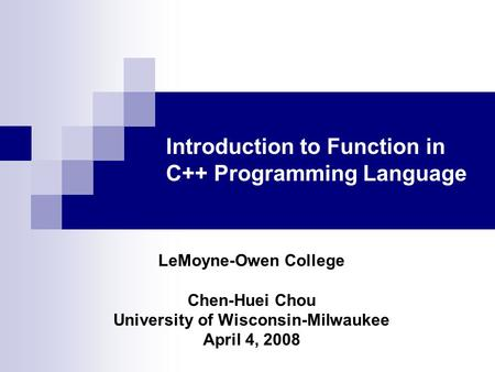 polymorphism in the c programming language essay 44 polymorphism an object-oriented programming language such as java object-oriented programming is one of several.