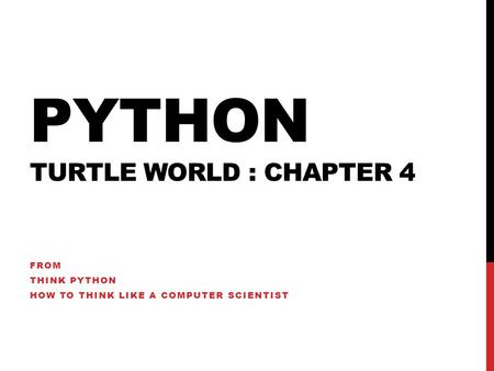 think python how to think like a computer scientist download