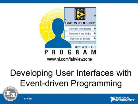 Developing User Interfaces with Event-driven Programming