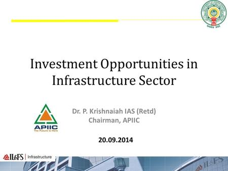 Investment Opportunities in Infrastructure Sector