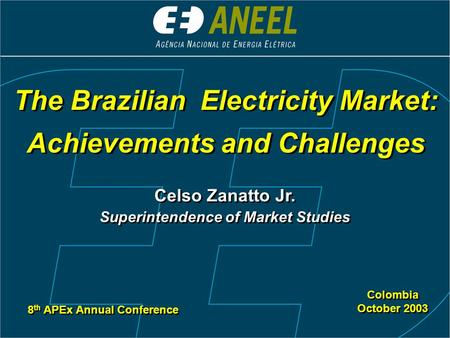 The Brazilian Electricity Market: Achievements and Challenges
