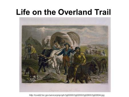 Life on the Overland Trail