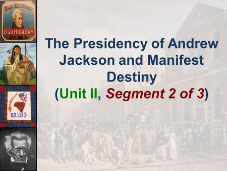 the changes in america during the presidency of andrew jackson There were multiple events that occured during andrew jacksons presidency jackson worked to dismantle the second bank of the united states he claimed it was unconstitutional jackson worked to dismantle the second bank of the united states.