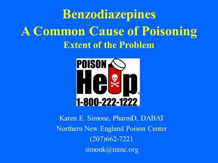 A Common Cause of Poisoning