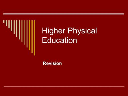 Higher Physical Education Revision. Gathering data  General observation schedule  Focused observation schedule  Scattergram  Game related observation.