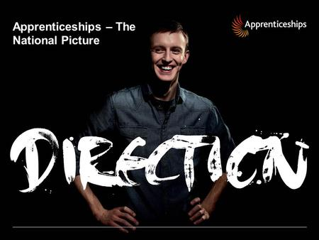 Apprenticeships – The National Picture. Recent Successes National Apprenticeship Service – 162,000 people started an Apprenticeship in 2001/02 – 457,000.