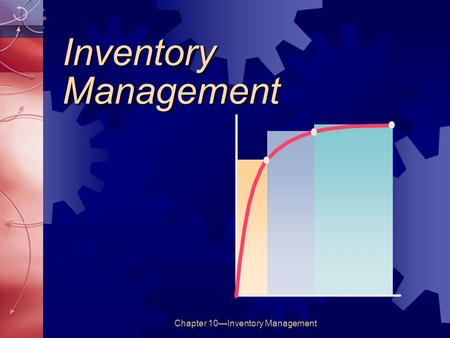 Chapter 10—Inventory Management Inventory Management.
