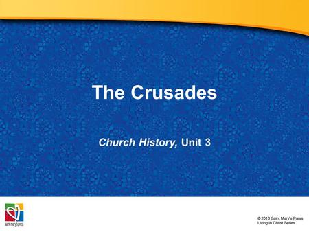 The Crusades Church History, Unit 3. Not long after the 1054 split between the Church in the East and the Church in the West, the Byzantine emperor sent.