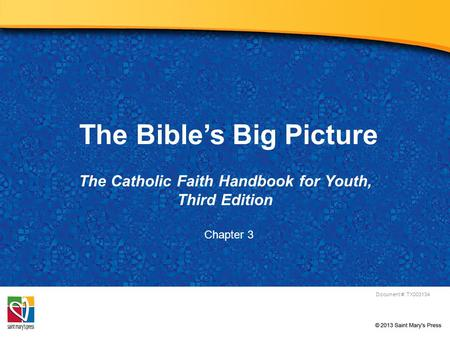 The Bible's Big Picture