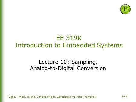 Hcs12 microcontrollers and embedded systems
