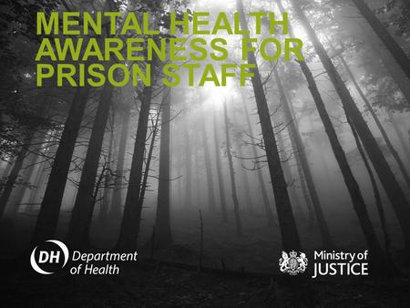 MENTAL HEALTH AWARENESS FOR PRISON STAFF. COURSE STRUCTURE CONTENTS WHAT IS MENTAL HEALTH? 3 MAJOR GROUPS OF MENTAL DISORDERS DEPRESSION ANXIETY SCHIZOPHRENIA.