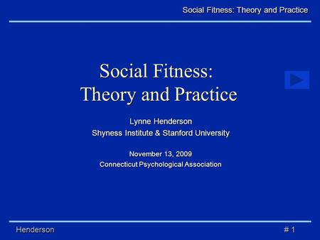 Chapter 03 - Social Theories