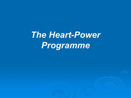 "The Heart-Power Programme. Do you remember ever reading Father's words: ""Don't say, 'Where is love?' Don't say, 'I expect love from my spouse.' If you."