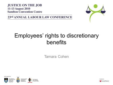 Employees' rights to discretionary benefits