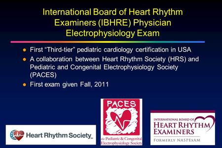 "First ""Third-tier"" pediatric cardiology certification in USA"