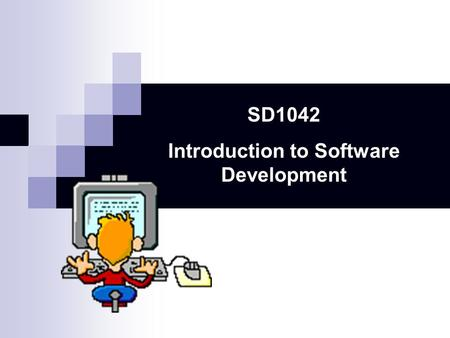 SD1042 Introduction to Software Development. Extending classes with inheritance Robot DancingRobot Sharing attributes and methods.