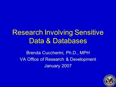 ethical use and protection of sensitive data