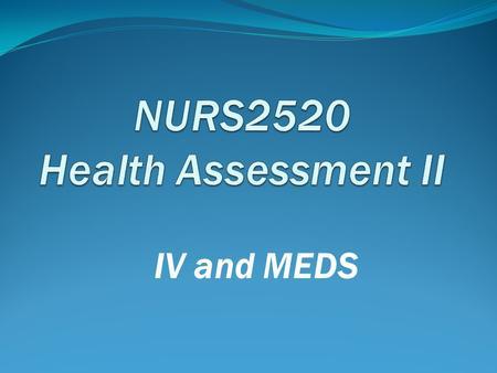 Nursing Care Plan for CHF