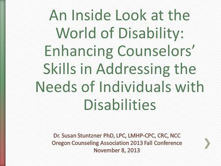5 Mistakes to Avoid when Counseling Clients with Disabilities