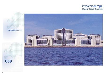 1 investorseurope Global Stock Brokers. 2 investorseurope - Background investorseurope Ltd was formed by stock market executives and software engineers,