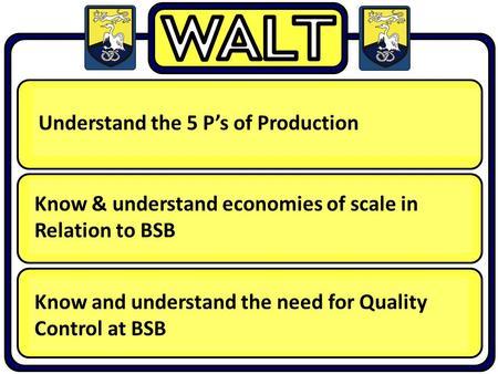 5 P's of Production Management – Explained!
