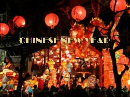  As the Chinese use the Lunar calendar for their festivals the date of Chinese New Year changes from year to year. The date corresponds to the new moon.