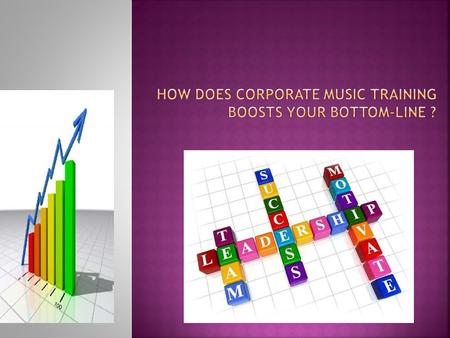 Music playing boosts creativity and DQ of employees (see other PPT on Music & DQ), whom in turn, could be expected to use such capabilities to come.