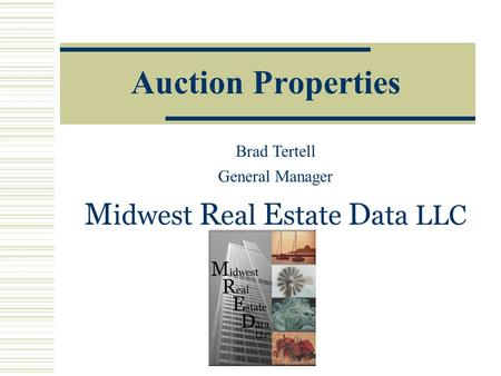 Midwest Real Estate Data LLC