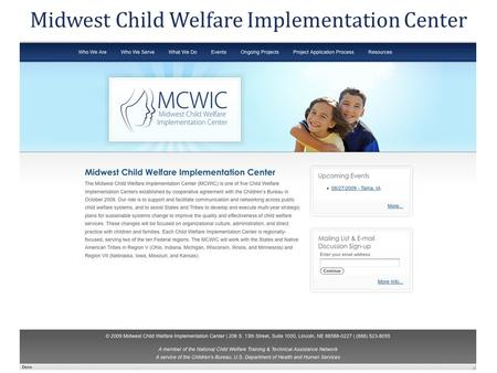 Midwest Child Welfare Implementation Center. Children's Bureau Training and Technical Assistance CB provides guidance, consultation, and resources to.