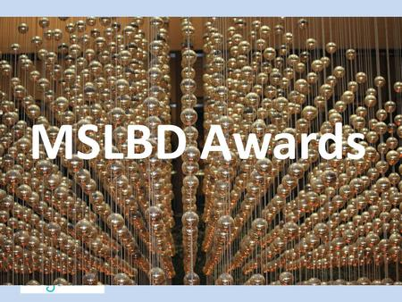 MSLBD Awards. Outstanding Building Leadership Award Midwest Symposium for Leadership in Behavior Disorders.