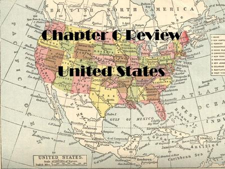 Chapter 6 Review United States. The majority of enslaved Africans worked on __________________________________.