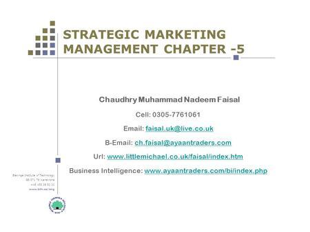 marketing management chapter 6 summary Fundamentals of marketing management managing world-class organizations dr pv  balakrishnan s #6 core marketing concepts needs, wants.