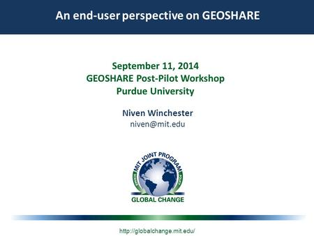 Market Cost of Renewable Jet Fuel Adoption in the US September 11, 2014 GEOSHARE Post-Pilot Workshop Purdue University  An.