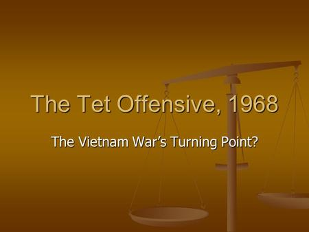 tet offensive research paper