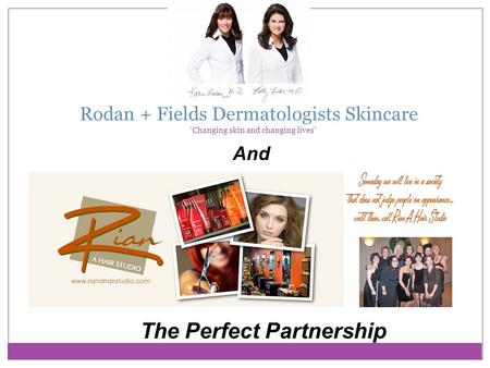 Rodan + Fields Dermatologists Skincare