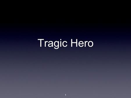 Greek tragic hero essay
