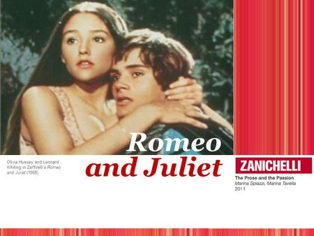 Romeo and Juliet Olivia Hussey and Leonard Whiting in Zeffirelli's Romeo and Juliet (1968)